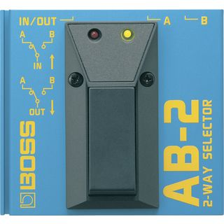 Boss AB-2 A/B Footswitch 2-Way Selector Pedal Product Image