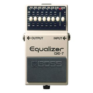 Boss GE-7 Equalizer Pedal    Product Image