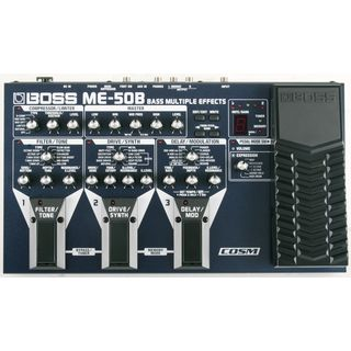 Boss ME-50B Bass Multi-FX-Processor Power Supply optional Product Image