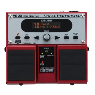 Boss VE-20 Vocal Performer    Product Image