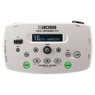 Boss VE-50 Vocal Performer White  Product Image