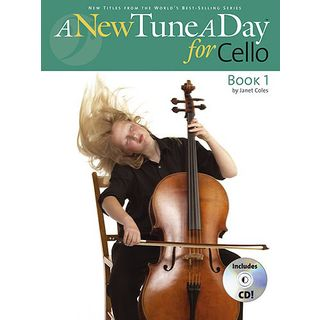 Boston Music A New Tune A Day: Cello Book 1 (CD Edition) Εικόνα προιόντος