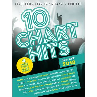 Bosworth Music 10 Charthits: Jul Bis Sep 2018 Product Image
