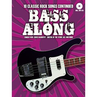Bosworth Music Bass Along: 10 Classic Rock Songs Continued Product Image