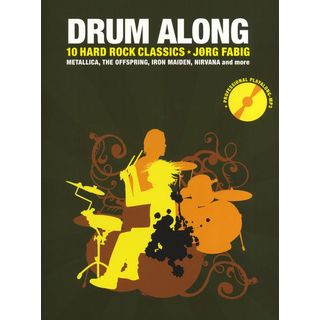 Bosworth Music Drum Along: 10 Hard Rock Classics, Jörg Fabig Product Image