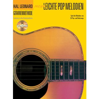 Bosworth Music Hal Leonard Gitarrenmethode Mehr Leichte Pop Melodien Product Image