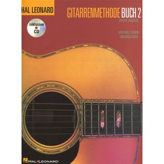 Bosworth Music HLGM Gitarrenmethode Buch 2 Buch und CD Zdjęcie produktu
