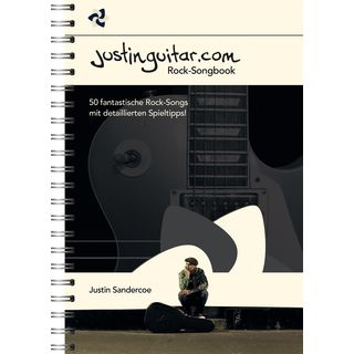 Bosworth Music Justinguitar.com Rock Songbook Product Image