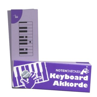 Bosworth Music Notenchecker Keyboard Chords  Product Image