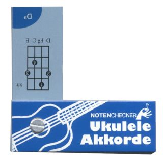 Bosworth Music Notenchecker Ukulele Chords  Product Image
