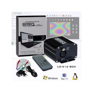 Briteq LD-512 BOX DMX Software 512 Channels Product Image