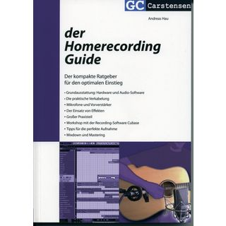 Carstensen-Verlag Der Homerecording Guide Andreas Hau Product Image