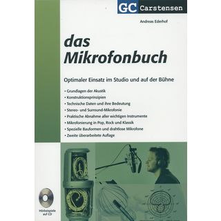 Carstensen-Verlag  Microphone book Andreas Ederhof Product Image