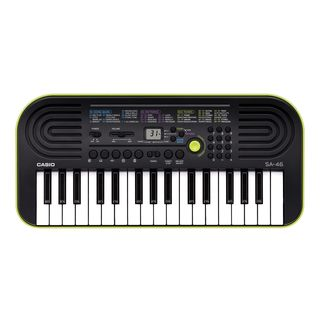 Casio SA-46 Mini Keyboard (Green Shell Base) Product Image