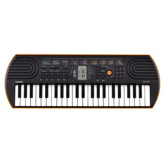 Casio SA 76 Red-Orange Product Image