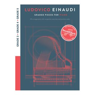 Chester Music Ludovico Einaudi: Graded Pieces For Piano Product Image