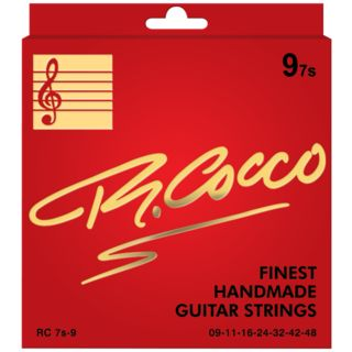 Cocco RC 7s-9 Electric 7-String Nickel Wound 9-48 Produktbild