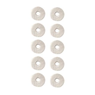 Color Your Drum Cymbal Felts, 35x5mm, 10 pc. , white Product Image