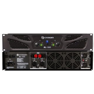 Crown XLI 1500 2 x 450Watt @ 4Ohm Product Image