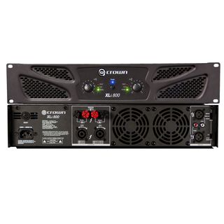 Crown XLI 800 Amplifier 2x - 300 Watt / 4 Ohm Product Image