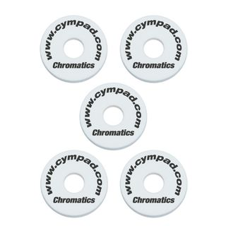 "Cympad BeckenFelte ""Chromatics"", White, 40x15 mm Product Image"