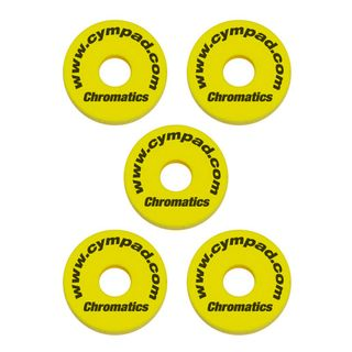 "Cympad BeckenFelte ""Chromatics"", Yellow, 40x15 mm Product Image"