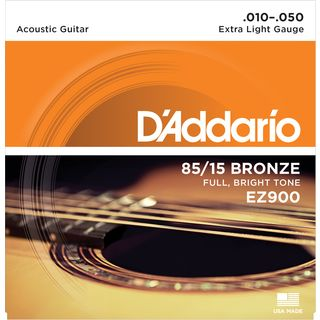 D'Addario A-Guit.Strings EZ900 10-50 85/15 Bronze Product Image