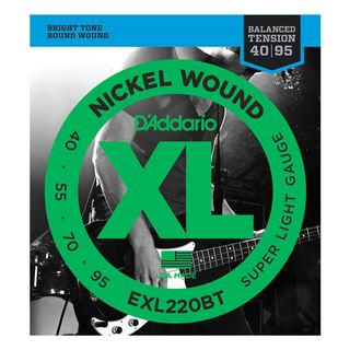 D'Addario Bass Strings XL Balanced 40-95 40-55-70-95, EXL220BT Product Image