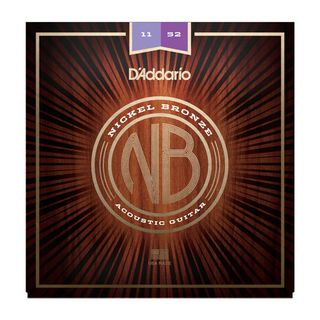 D'Addario NB1152 11-52 Nickel Bronze Acoustic Custom Light Produktbild