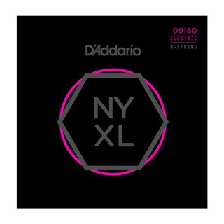 D'Addario NYXL 09-80 Carbon Steel Alloy 8-string Product Image