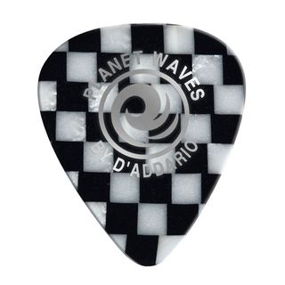 D'Addario Planet Waves Checkerboard Picks 0,70 mm 10-Pack, 1CCB4-10 Product Image