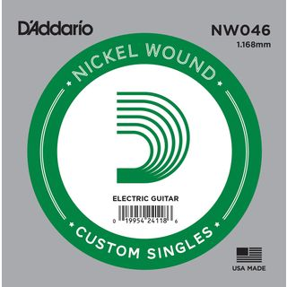 D'Addario Single String NW046 Nickelwound Product Image