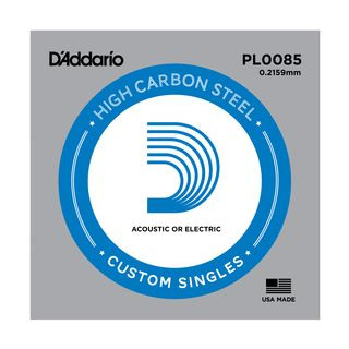 D'Addario Single String PL0085 Plain  Product Image