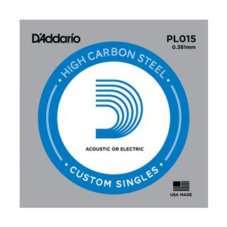 D'Addario Single String PL015 Plain  Product Image