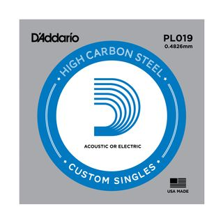 D'Addario Single String PL019 Plain  Product Image