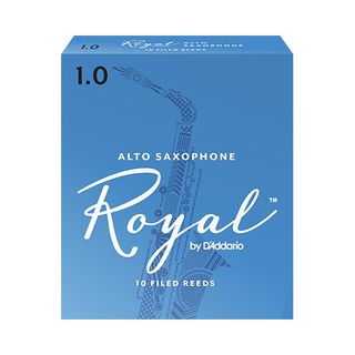 D'Addario Woodwinds Alto Saxophone Reeds 1 Box of 10 Product Image