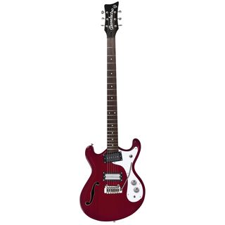 Danelectro 66BT Transparent Red Product Image