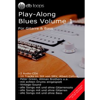 db loops Blues - Volume 1 Gitarre Playalong Produktbild