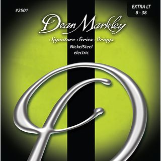 Dean Markley E-Guit. Strings 08-38 2501B XL Nickel Steel Product Image