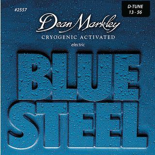 Dean Markley E-Guit. Strings 13-56 2557 DT Blue Steel Product Image
