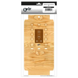 dj-skins Native Instruments Z1 Skin Woody Product Image