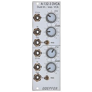 Doepfer A-132-3 Dual linear / exponential VCA Product Image