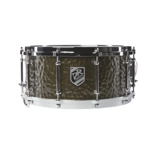 "DR Customs Glory Warrior Snare Drum 14""x6,5"" Antik Rosty Gold Product Image"