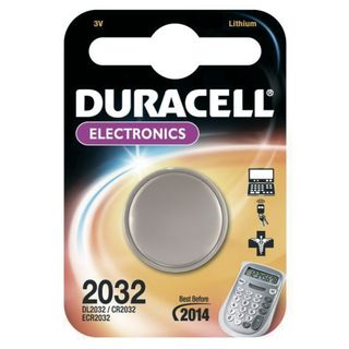 Duracell CR2032 1 Button Cell, 3V, Lithium Product Image