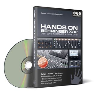 DVD Lernkurs Hands on Behringer X32 Product Image