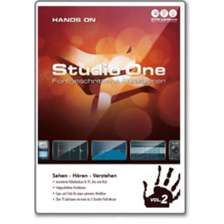 DVD Lernkurs Hands On Studio One Two Vol.2 Advanced Product Image