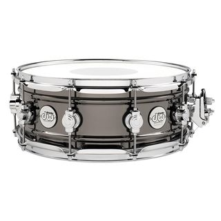 "DW Design Black Brass Snare 14""x5,5"" Product Image"