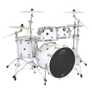 "DW Performance ShellSet ""Studio"", Lacquer, Pearlescent White Product Image"