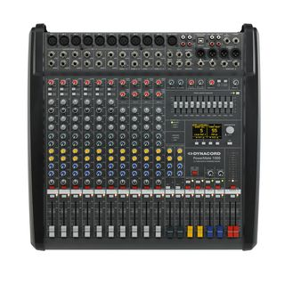 Dynacord PowerMate 1000-3 table de mixage amplifiée, 2x 1000 W / 4 ohms Image du produit