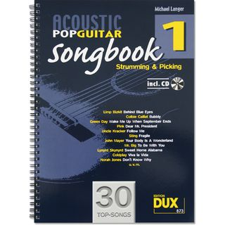 Edition Dux Acoustic Pop Guitar Songbook 1 Produktbild